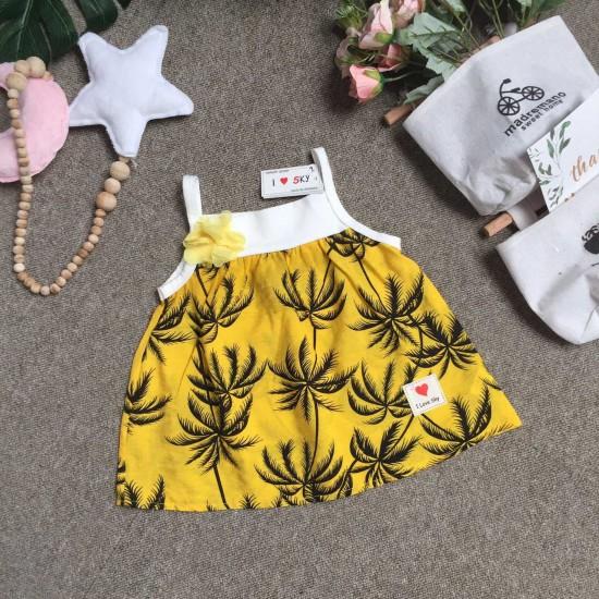 áo 2 dây hoa tơ đũi size 1-5